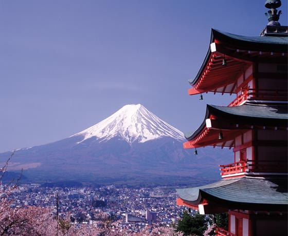 Mount Fuji Bullet Train & Japan Cruise